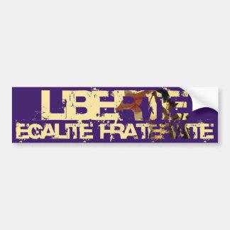 LIberte Egalite Fraternite! Revolução Francesa! Adesivo Para Carro