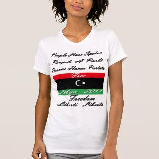 LÍBIA LIVRE 2011 CAMISETA