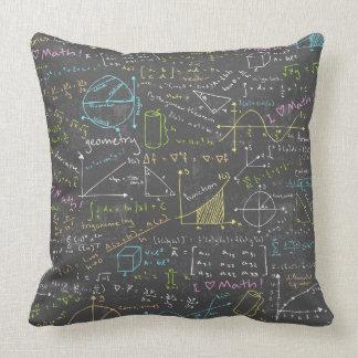 Lições da matemática almofada