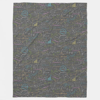 Lições da matemática cobertor de lã