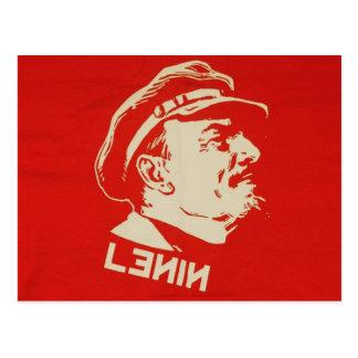 Líder comunista Lenin do russo
