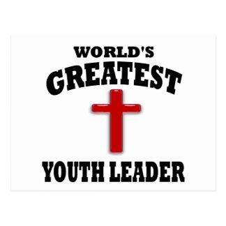 Líder da juventude cartões postais