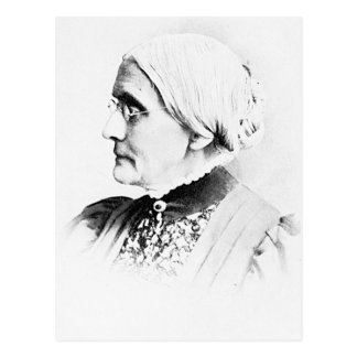 Líder de Susan B. Mulher Sufrágio do ~ de Anthony Cartão Postal