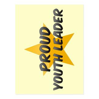 Líder orgulhoso da juventude cartões postais