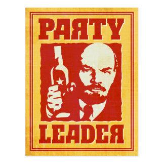 Líder partidário - partido do Bolshevik de Cartão Postal