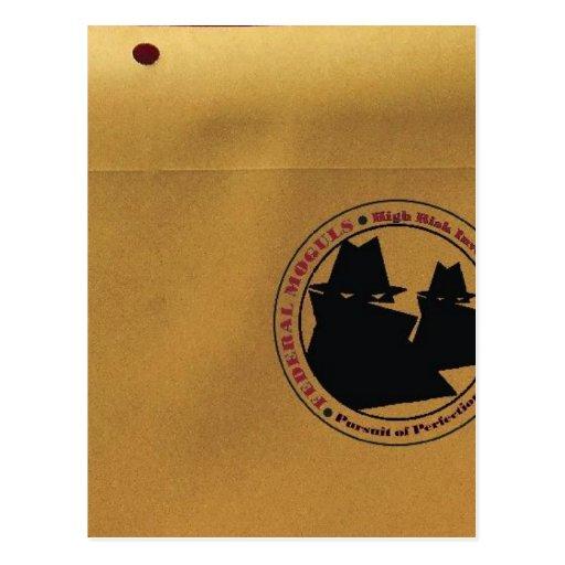 Líderes federais cartao postal