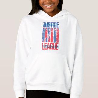 Liga de justiça pop art azul & vermelho de   do