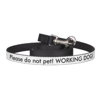 Ligação do cão do serviço do veterano dos E.U. Coleira Para Cão