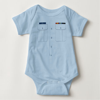 Ligação em ponte de bebê da camisa de Trop da