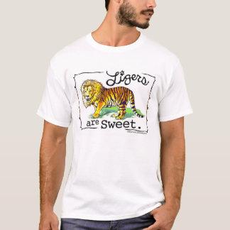 Ligers é design doce da camisa de T