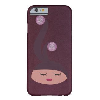 Lil Girlies - senhorita Fancyhat Capa Barely There Para iPhone 6
