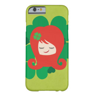 Lil Girlies - senhorita Redhead Capa Barely There Para iPhone 6