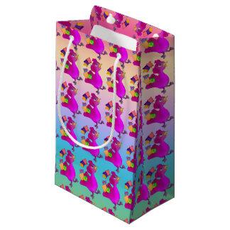 Lila ama comprar pelos Feliz Juul Empresa Sacola Para Presentes Pequena
