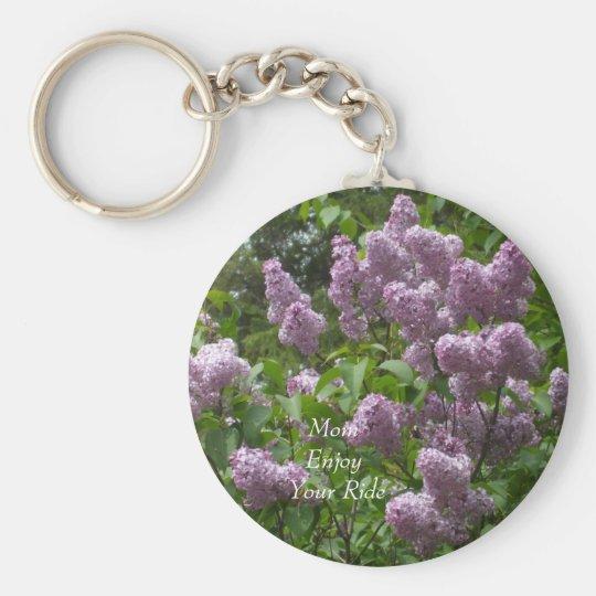 Lilac Bush bonito Chaveiro