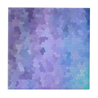 Lilac & Lavendar através do vitral