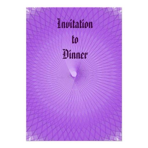 Lilac Plafond Convite