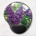 Lilacs de florescência mouse pads de gel
