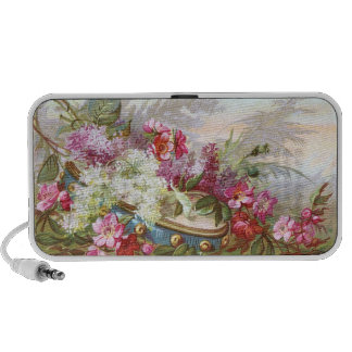 Lilacs e pandeiro da idade de Victorian Caixinhas De Som Para iPod