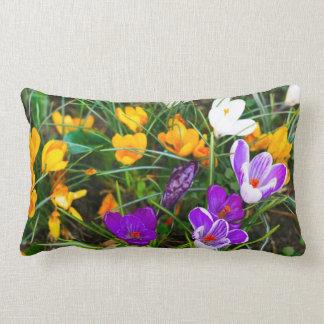 Lillies do verão travesseiro de decoração