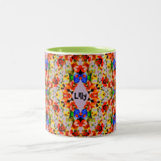 Lilly~ personalizou o ~ da caneca do Natal