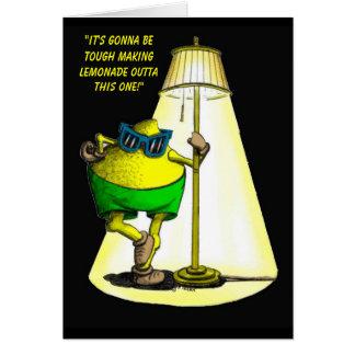Limão-Acima - cartão