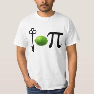 Limão chave Pi Camiseta