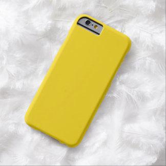 Limão liso - caixa amarela do iPhone 6 Capa Barely There Para iPhone 6