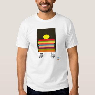Limão no japonês t-shirts