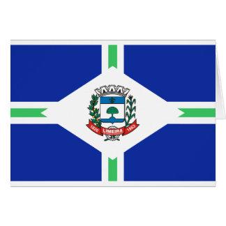 Limeira, Brasil Cartão Comemorativo