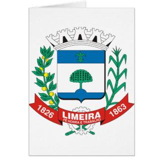 Limeira Sao Paulo, Brasil Cartão Comemorativo