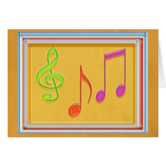 Limite a soar bom - símbolos de música da dança cartões