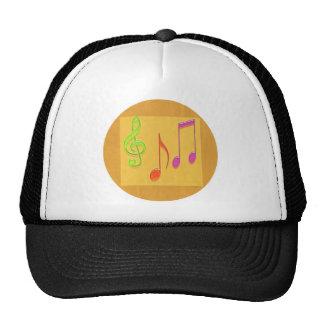 Limite a soar bom - símbolos de música da dança boné
