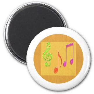 Limite a soar bom - símbolos de música da dança imã