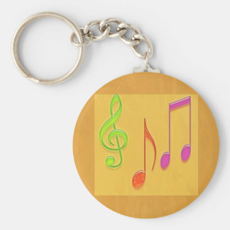Limite a soar bom - símbolos de música da dança chaveiro
