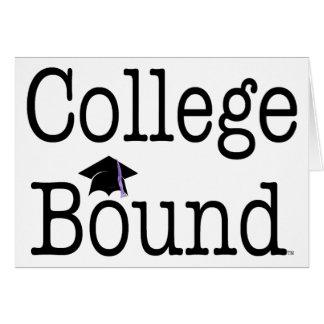 Limite da faculdade do T Cartão Comemorativo
