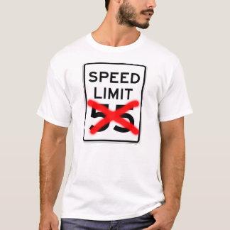 Limite de velocidade 55 camiseta