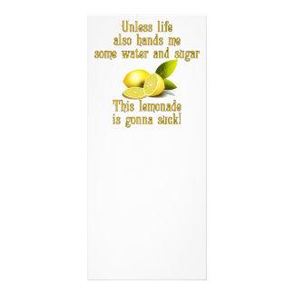 Limonada do fazer 10.16 x 22.86cm panfleto