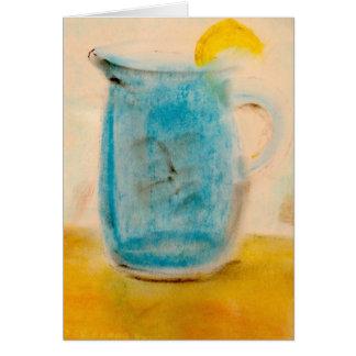 Limonada | Notecard do verão pelo artista Brad Cartão Comemorativo