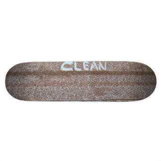 Limpe 'a bagageira Talk Shape De Skate 20cm