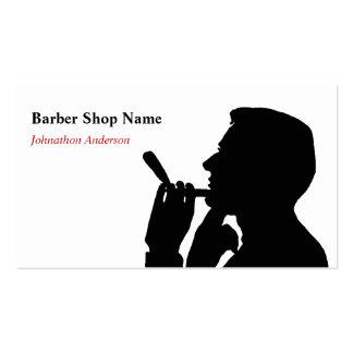 Limpe o cabeleireiro da barbearia do Shave para ho Cartão De Visita