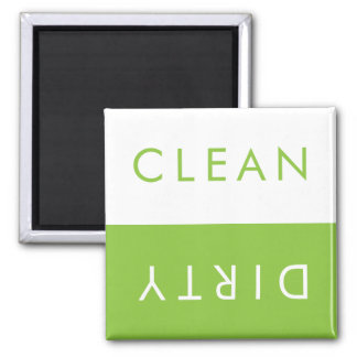 Limpe o ímã sujo da máquina de lavar louça em ímã quadrado