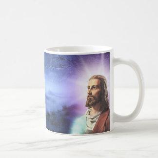 linda caneca com a imagem de Jesus.