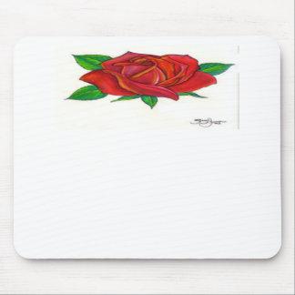 linda flor feita no paint e corel draw mouse pad