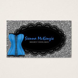 Lingerie da forma cartão de visitas