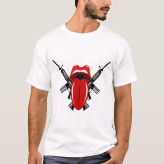 Língua infiel camiseta