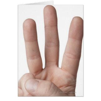 Linguagem gestual americano 6 cartões