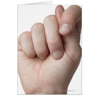 Linguagem gestual americano 9 cartões