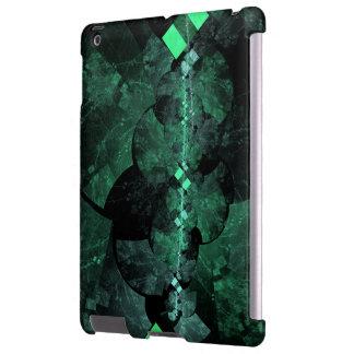 Linha espectral caso do iPad do Fractal Capa Para iPad