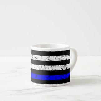 Linha fina bandeira americana - caneca do café