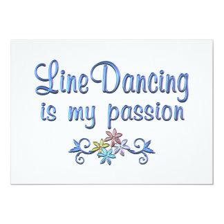 Linha paixão da dança convites